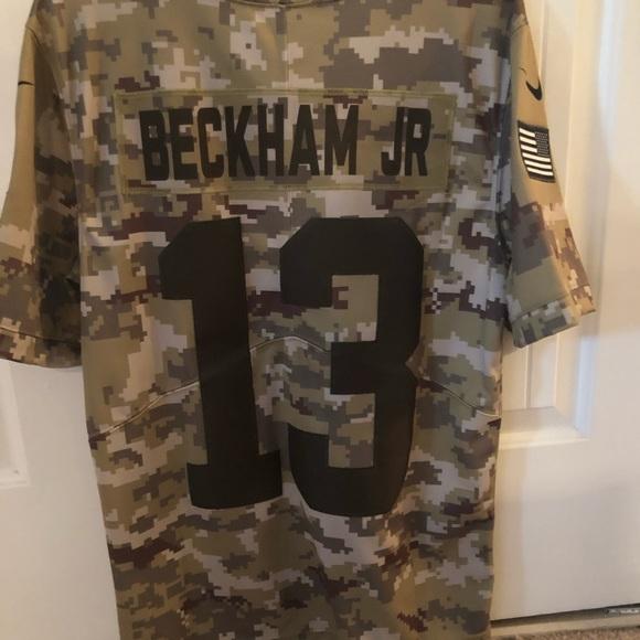 pretty nice 724d4 5bf02 Odell Beckham JR. Veterans style NY Giants Jersey